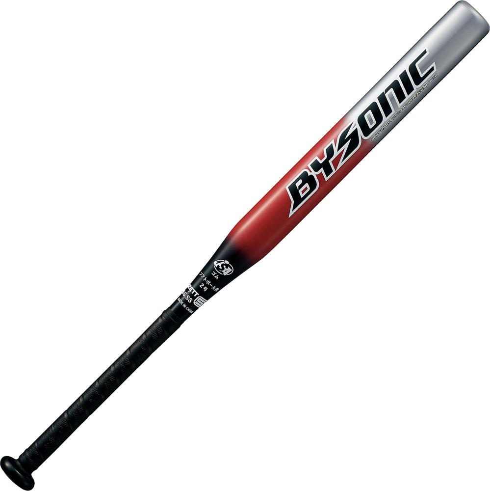 ZETT(ゼット)野球&ソフト野球バットソフト2号 FRP製 カーボン製 バット バイソニック 75cmBCT52945ブラック