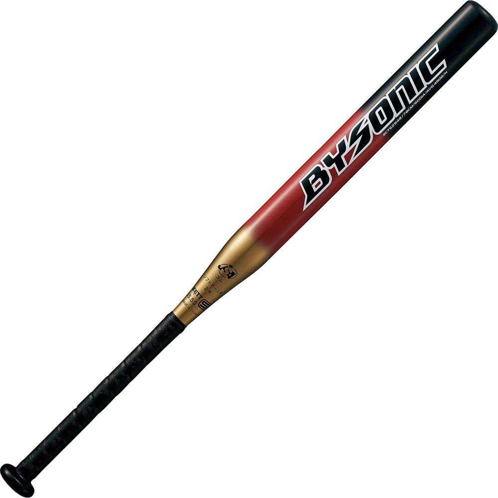 ZETT(ゼット)野球&ソフト野球バットソフト2号 FRP製 カーボン製 バット バイソニック 78cmBCT52948ゴールド