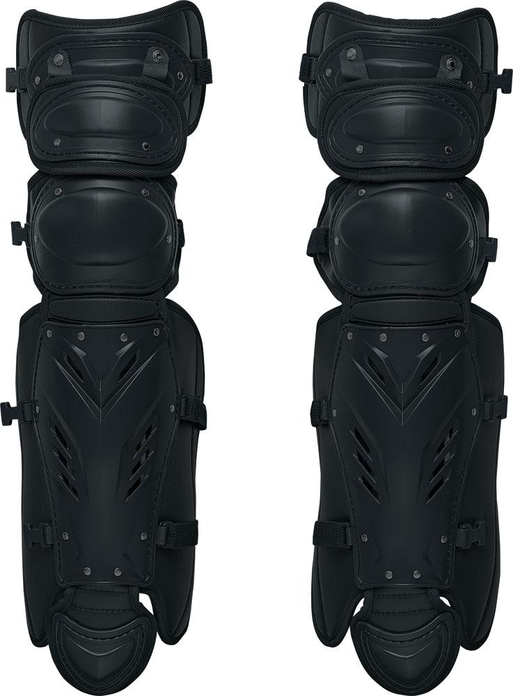 ZETT(ゼット)野球&ソフトマスク・プロテクター【硬式野球用レガーツ】 プロステイタスBLL1265Mブラック
