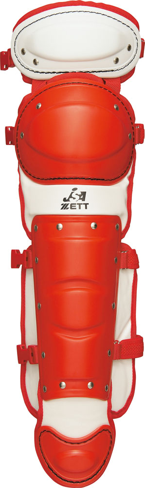 ZETT(ゼット)野球&ソフトマスク・プロテクターソフトボール用レガーツBLL5370Aレッド/ホワイト