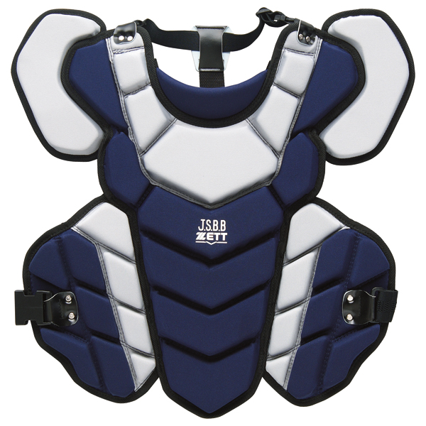 ZETT(ゼット)野球&ソフトマスク・プロテクタープロステイタス 軟式野球用プロテクター BLP3295BLP3295ネイビー/Sグレー