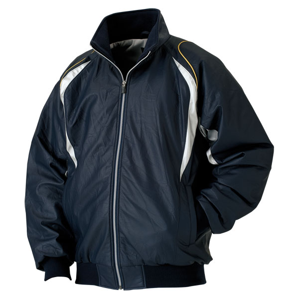 ZETT(ゼット)野球&ソフトグランドコート少年用グラウンドコート  BOG790BOG790ネイビー/シルバー