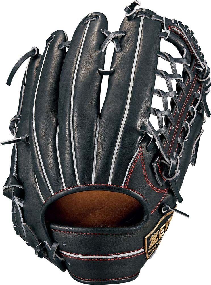 ZETT(ゼット)野球&ソフト野球グラブ軟式グラブ ネオステイタス 外野手BRGB31817ブラック