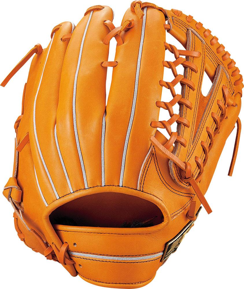 ZETT(ゼット)野球&ソフト野球グラブ野球 軟式グラブ 外野手用 ネオステイタスBRGB31917オレンジ