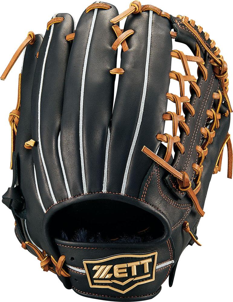 ZETT(ゼット)野球&ソフト野球グラブ野球 軟式グラブ オールラウンド用 ウイニングロードBRGB33940ブラック/オ-クB