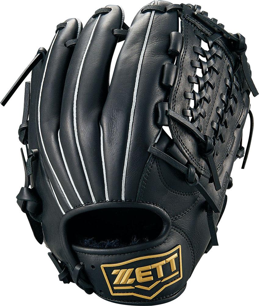 ZETT(ゼット)野球&ソフト野球グラブ野球 軟式グラブ オールラウンド用 デュアルキャッチBRGB34910ブラック