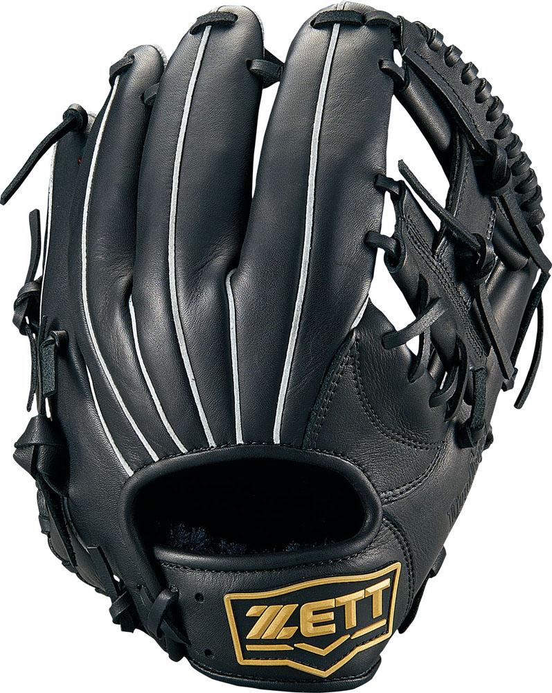 ZETT(ゼット)野球&ソフト野球グラブ野球 軟式グラブ オールラウンド用 デュアルキャッチBRGB34920ブラック