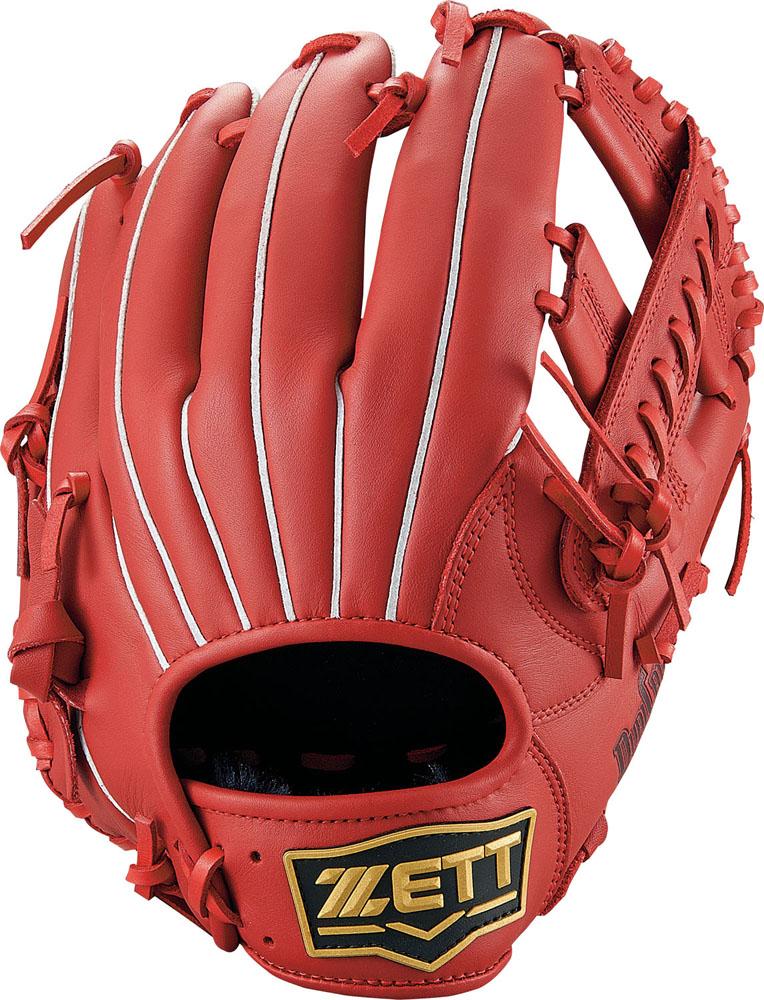 ZETT(ゼット)野球&ソフト野球グラブ野球 軟式グラブ オールラウンド用 デュアルキャッチBRGB34930レッド