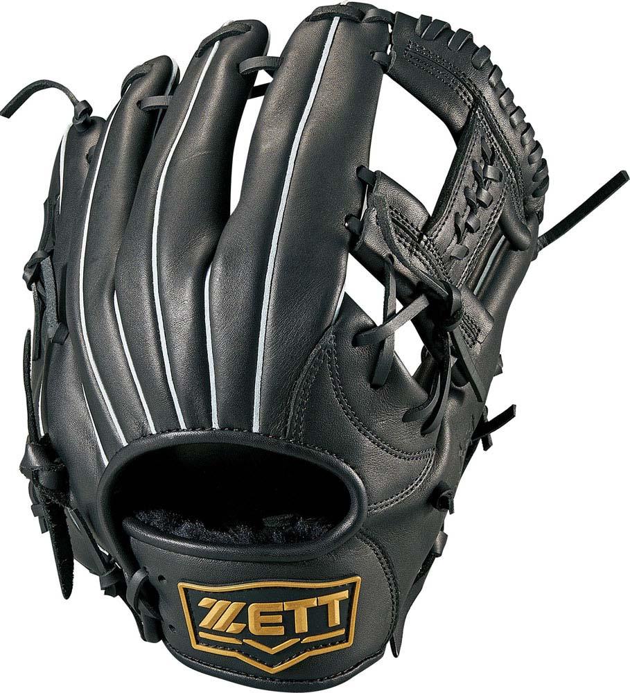 ZETT(ゼット)野球&ソフト野球グラブソフトボール3号用グラブ デュアルキャッチ オールラウンドBSGB53810ブラック