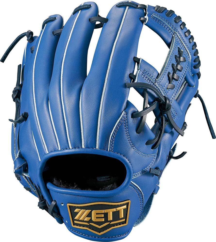 ZETT(ゼット)野球&ソフト野球グラブソフトボール3号用グラブ デュアルキャッチ オールラウンドBSGB53810ブルー
