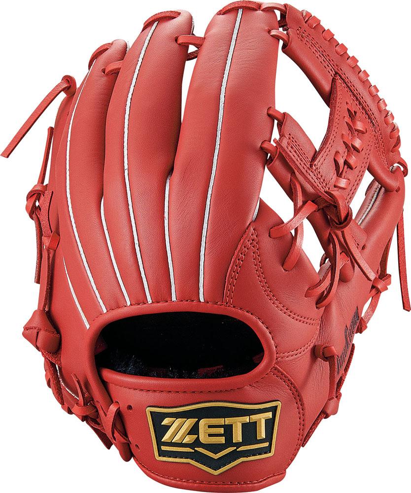 ZETT(ゼット)野球&ソフト野球グラブソフトボール グラブ オールラウンド用 デュアルキャッチBSGB53910レッド
