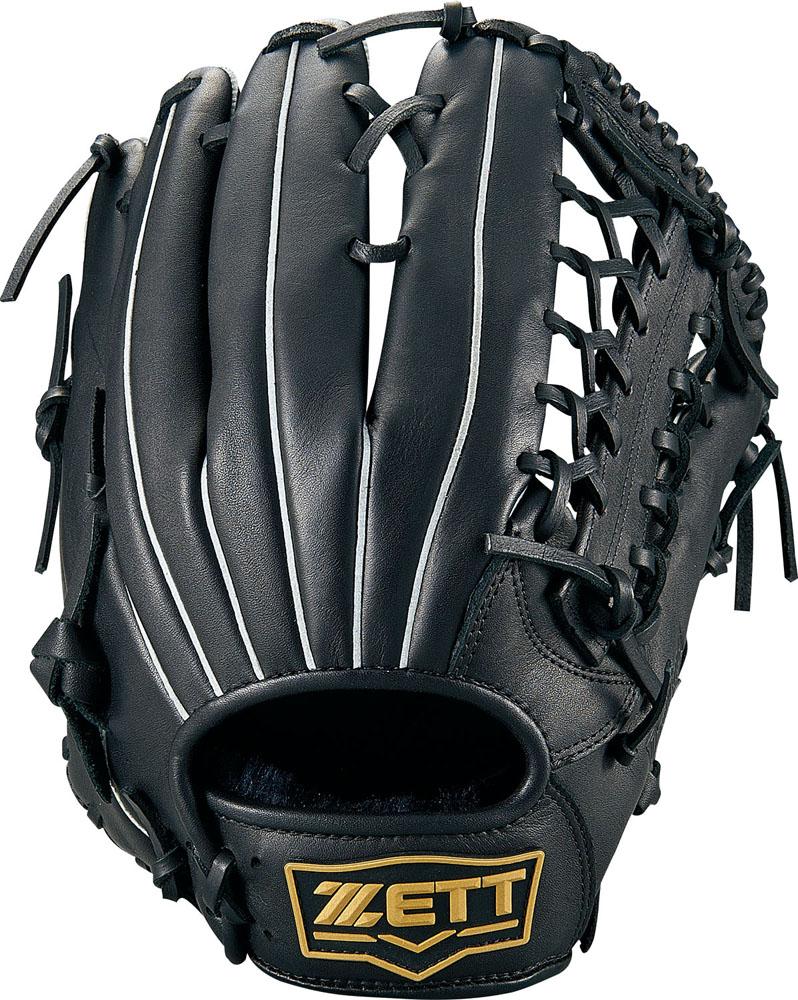ZETT(ゼット)野球&ソフト野球グラブソフトボール グラブ オールラウンド用 デュアルキャッチBSGB53930ブラック