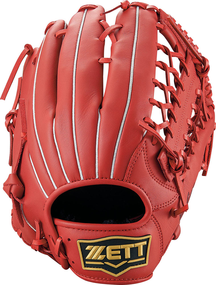 ZETT(ゼット)野球&ソフト野球グラブソフトボール グラブ オールラウンド用 デュアルキャッチBSGB53930レッド