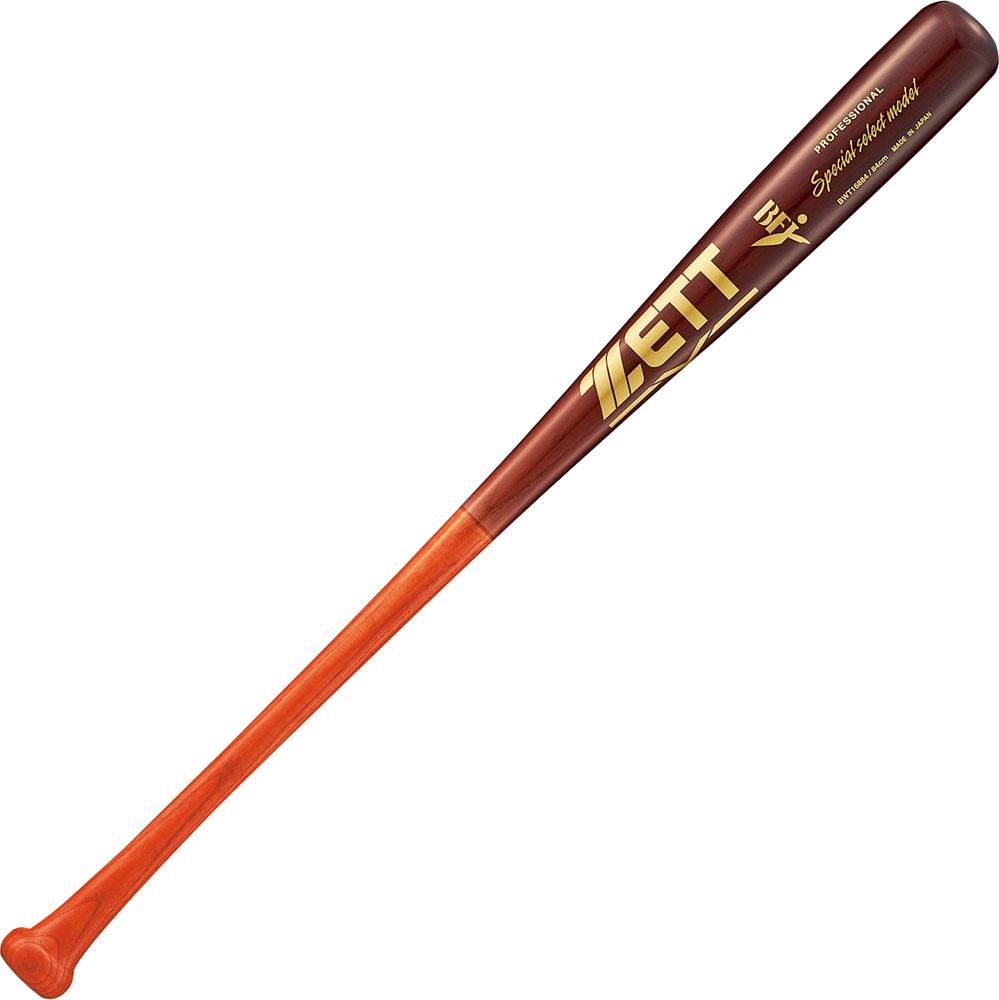 ZETT(ゼット)野球&ソフト野球バット硬式野球用 木製バット(東北アオダモ) スペシャルセレクトモデル 84cmBWT16884Lレッド/ウスダーク