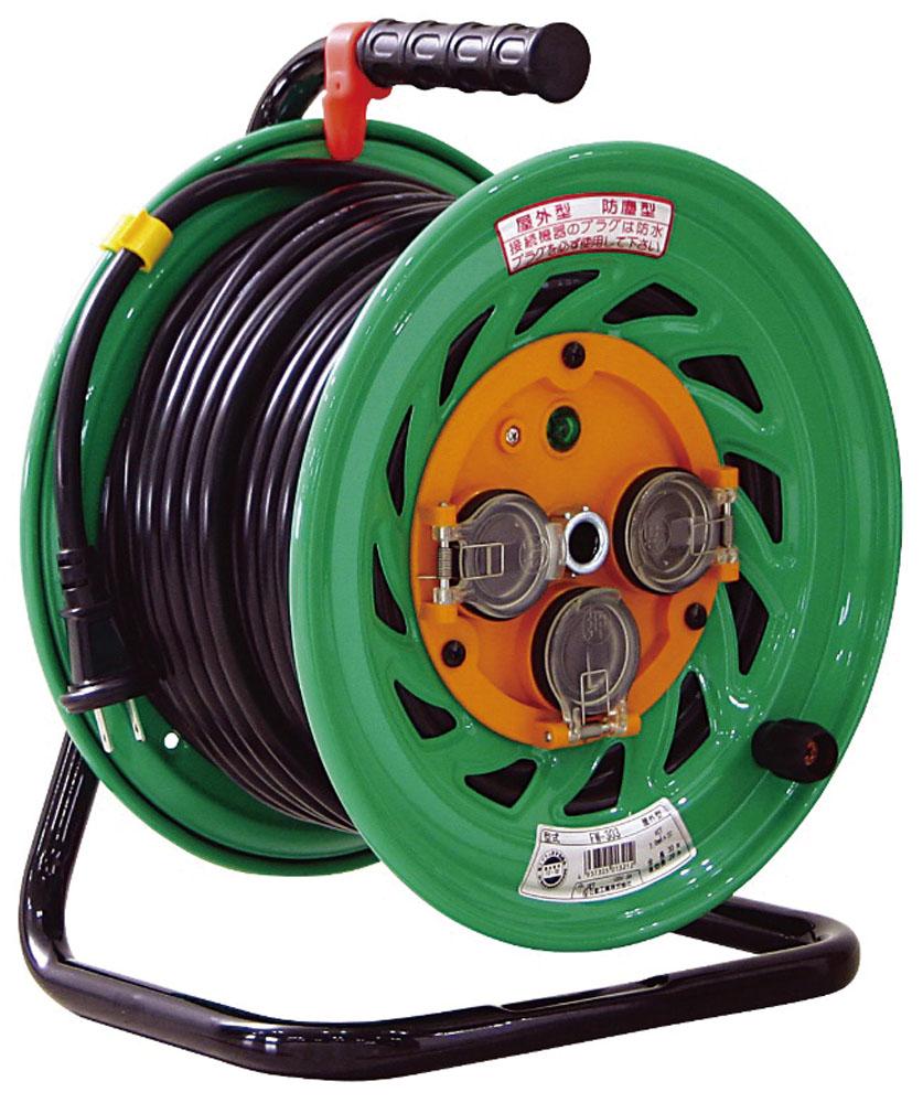 ゼット体育器具マルチSP器具・備品防雨防塵ドラム 20mFW203