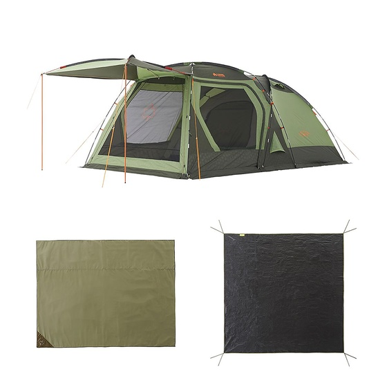 【送料無料】 LOGOS (ロゴス) キャンプ用品 ファミリーテント PSC DOUBLE XL SET 71809540