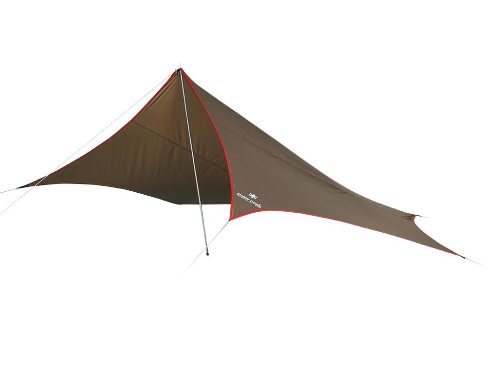 【送料無料】 Snow Peak (スノーピーク) キャンプ用品 ソロ その他タープ ライトタープ ペンタ シールド STP-381