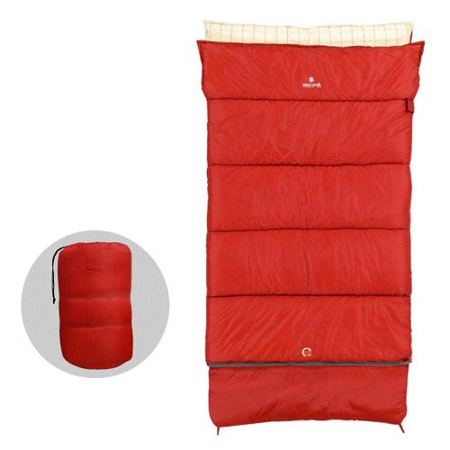 【送料無料】 Snow Peak (スノーピーク) キャンプ用品 スリーピングバッグ 寝袋 封筒型 セパレートシュラフ オフトンワイド LX BD-104
