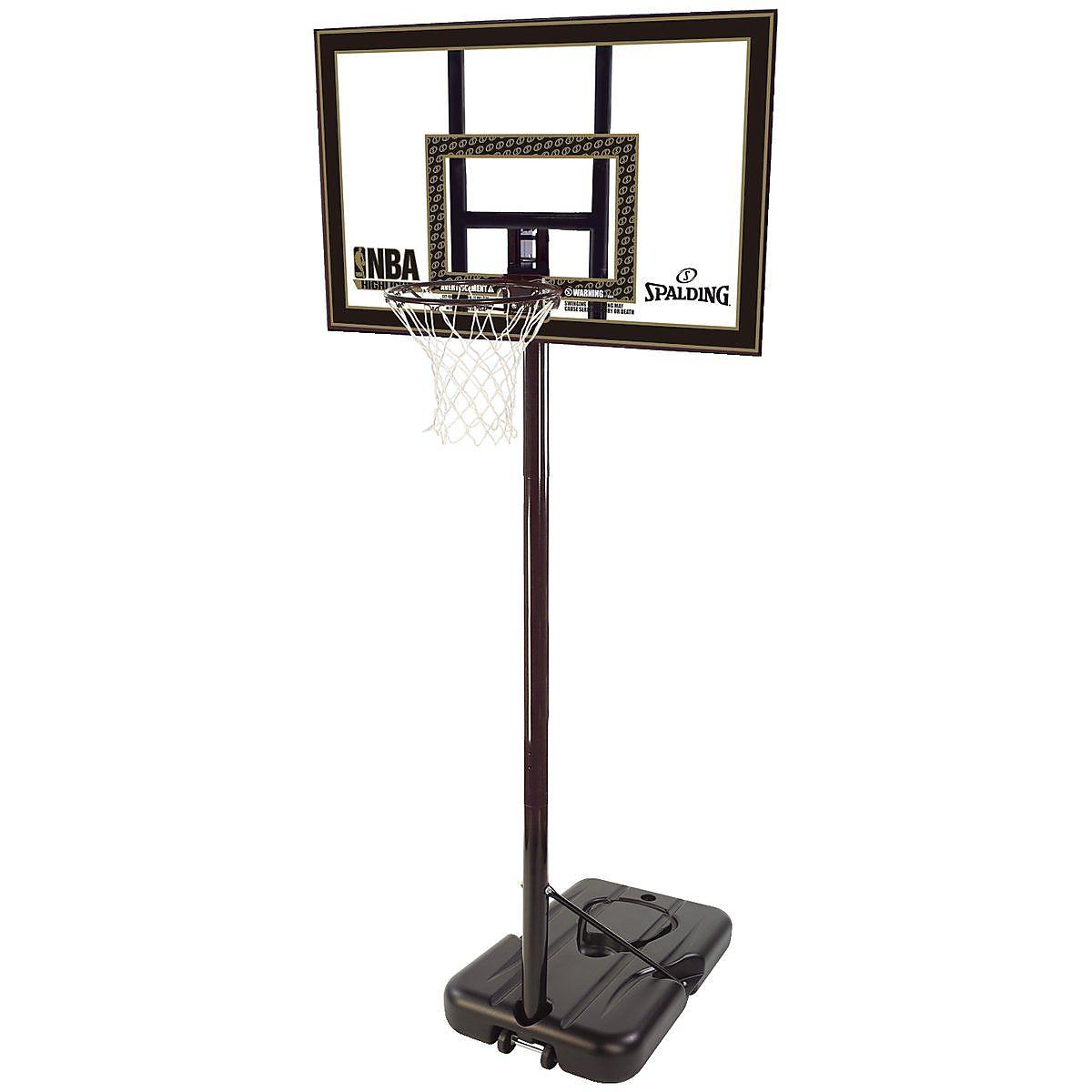 【送料無料】 SPALDING (スポルディング) バスケットボール バックボード トイ 【メーカー直送品】ハイライトポータブルSA 77684CN
