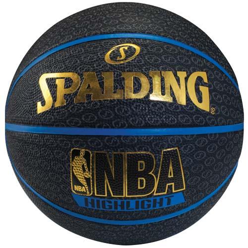 スポルディング バスケットボール 誕生日/お祝い アウトレット 7号ボール ブルーハイライト SPALDING 73-902Z ブルー 7