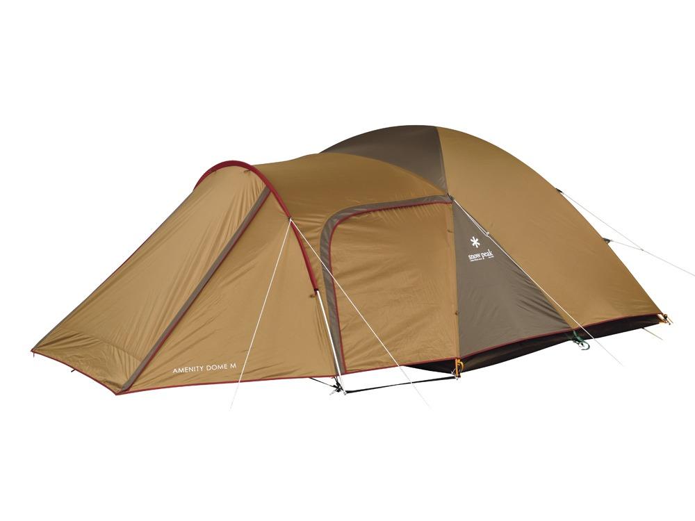【送料無料】 Snow Peak (スノーピーク) キャンプ用品 ファミリーテント AMENITYDOME M SDE-001R