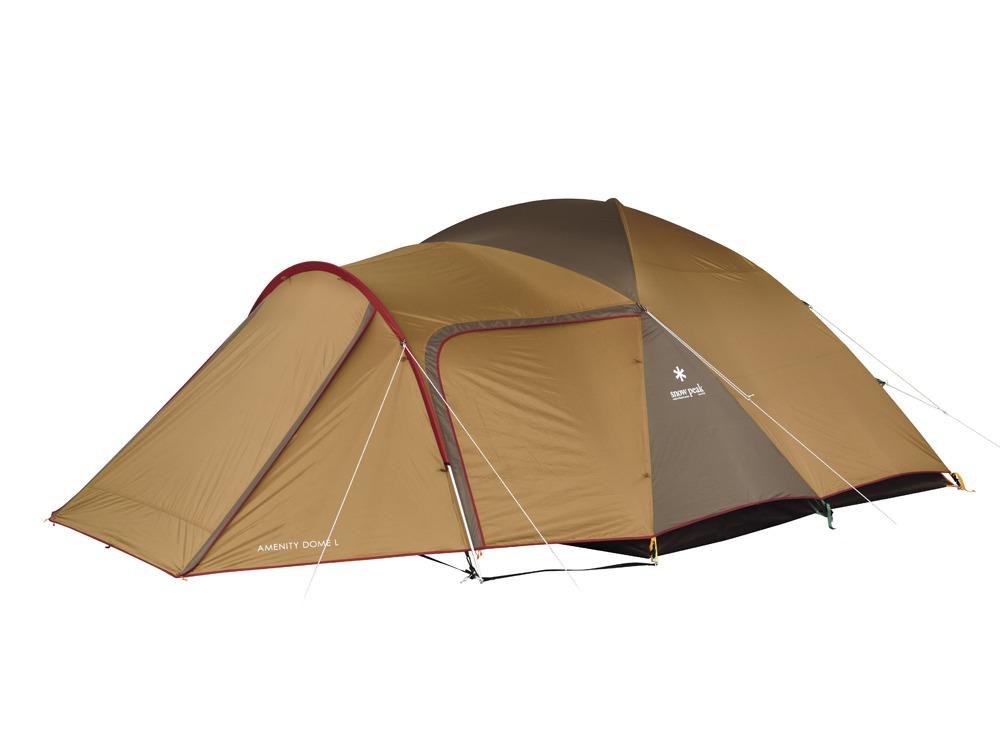 【送料無料】 Snow Peak (スノーピーク) キャンプ用品 ファミリーテント AMENITYDOME L SDE-003R