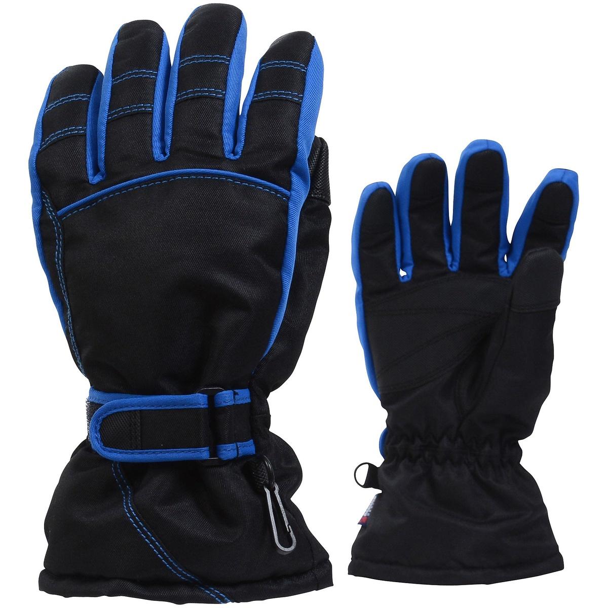 公式サイト アルパインデザイン ウインター 新商品 グローブ 手袋 ジュニア ジュニアウィンターグローブ Alpine ブルー DESIGN ブラック ボーイズ AD-F16-405-003 BLK