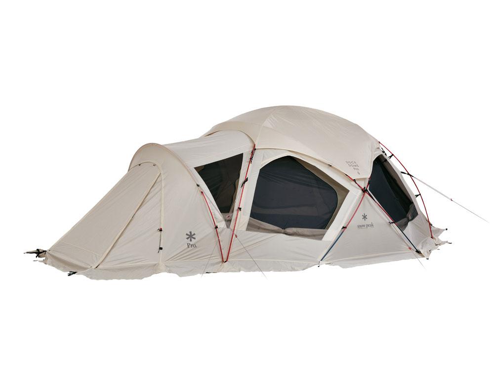 【送料無料】 Snow Peak (スノーピーク) キャンプ用品 ファミリーテント ドックドーム PRO.6 アイボリー SD-507IV
