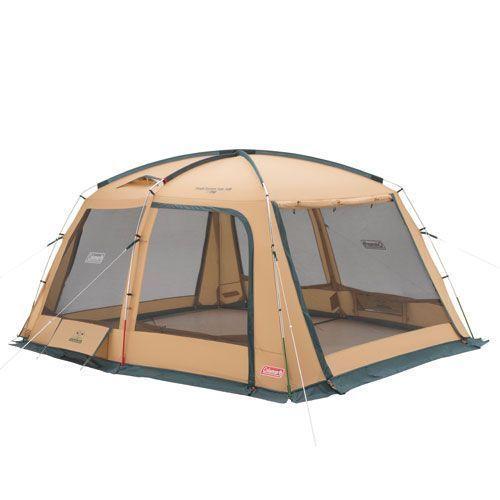 ● 【送料無料】 COLEMAN (コールマン) キャンプ用品 ファミリータープ タフスクリーンタープ/400 2000031577