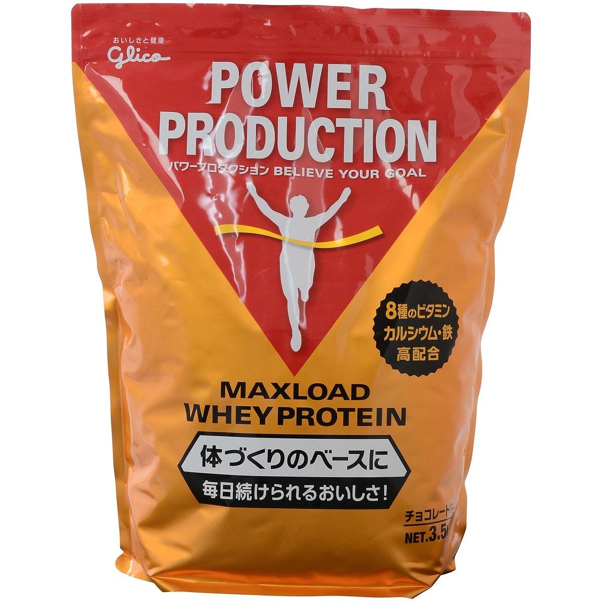 【送料無料】 Glico (グリコ) サプリメント MAXLOAD 3.5KG CH G76014