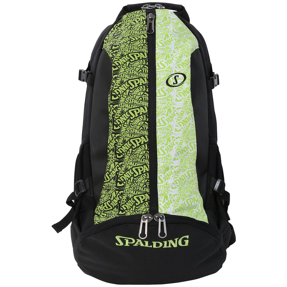 ● 【送料無料】 SPALDING (スポルディング) バスケットボール バッグ ケイジャー SDライム SA F LIME 40-007SDL