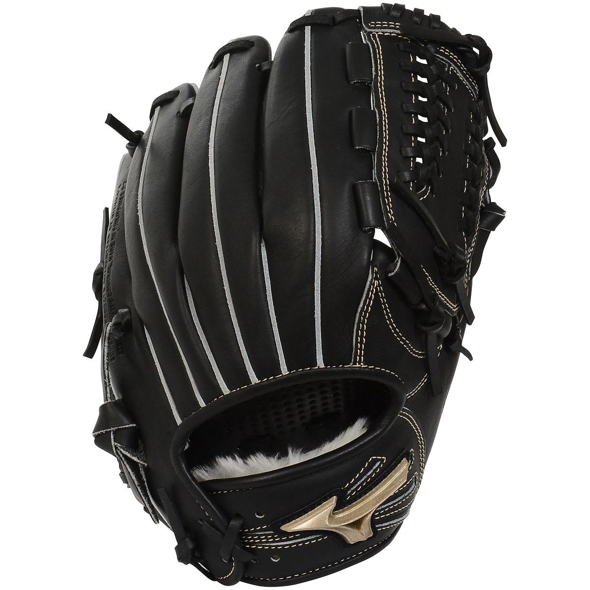 【送料無料】 MIZUNO (ミズノ) 野球 少年軟式グローブ GERG HSELECTION02 ジュニア ブラック 1AJGY18340 09