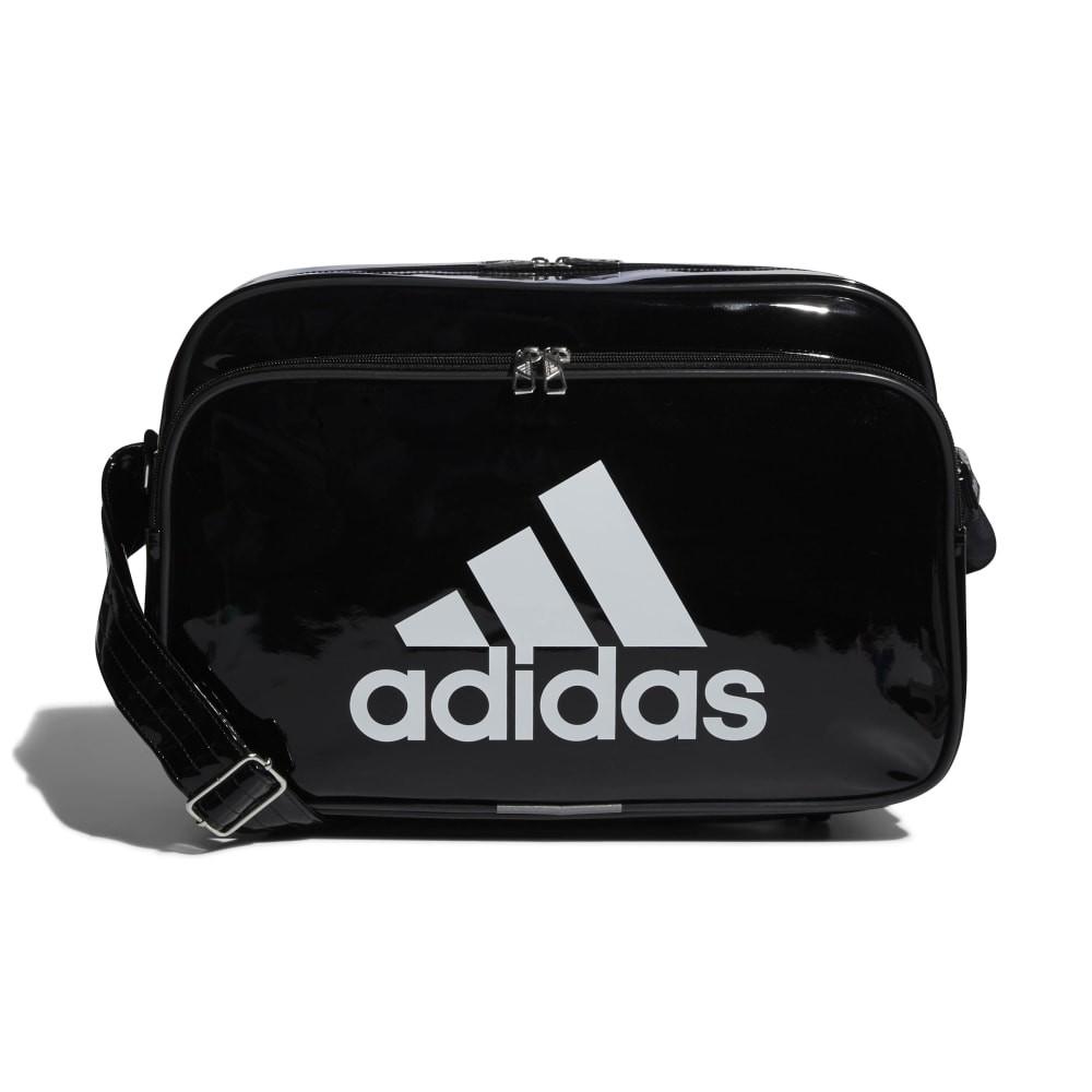 adidas (アディダス) スポーツアクセサリー エナメルバッグ エナメルバッグM NS ブラック/ホワイト ETX12 CX4042