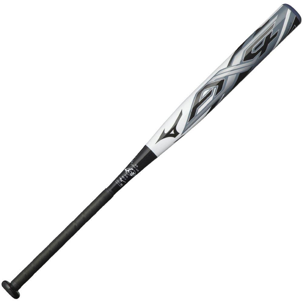 ● 【送料無料】 MIZUNO (ミズノ) ソフトボールバット MP 3ゴウゴムヨウ AX4 メンズ ホワイト×ブラック 1CJFS30784 0109