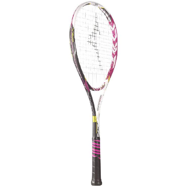 【送料無料】 MIZUNO (ミズノ) 【フレームのみ】ソフトテニス フレームラケット XYST T-05(ジストティー05) 64:ソリッドマゼンタ 63JTN63564