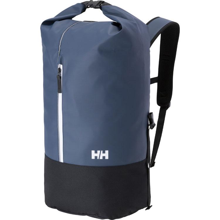【送料無料】 HELLY HANSEN (ヘリーハンセン) トレッキング アウトドア カジュアルバックパックス AKER ROLL PACK DN HY91882 DN