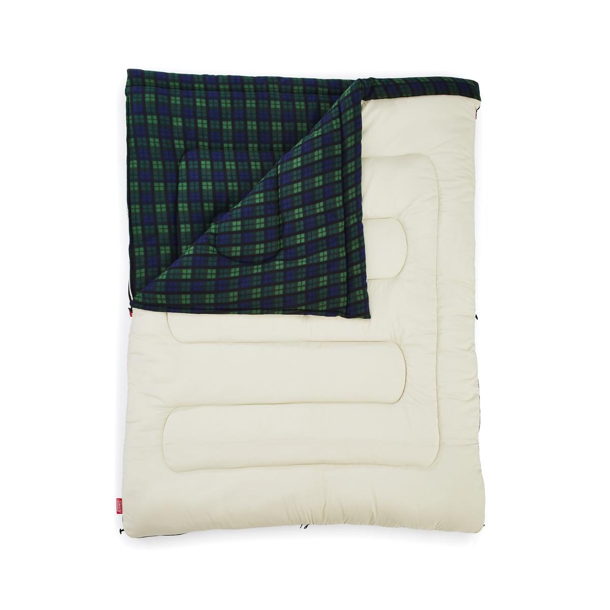 【送料無料】 COLEMAN (コールマン) キャンプ用品 スリーピングバッグ 寝袋 封筒型 フリースアドベンチャー/C0(グリーンチェック) 2000033804