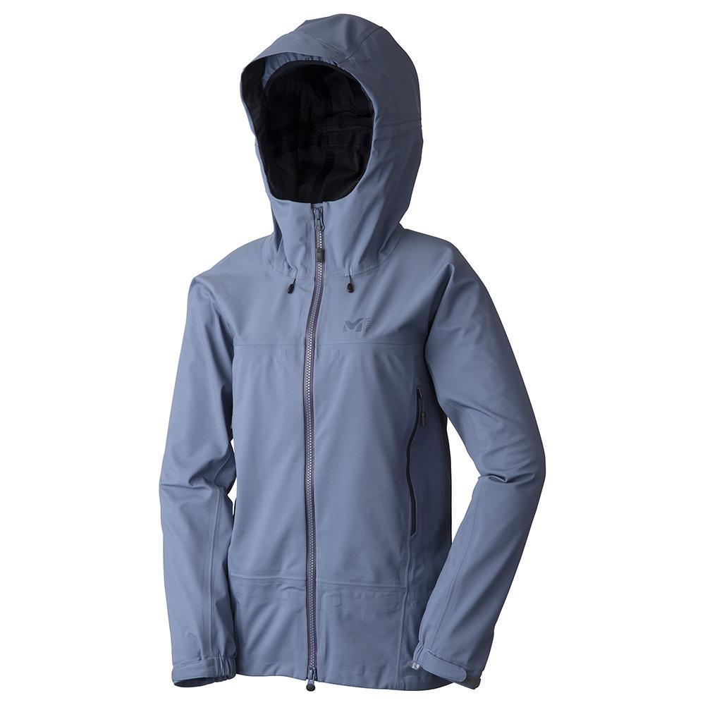 【送料無料】 MILLET (ミレー) トレッキング アウトドア 薄手ジャケット ティフォン 50000 ウォーム ストレッチ ジャケット レディース ASPHALT MIV01560 3744