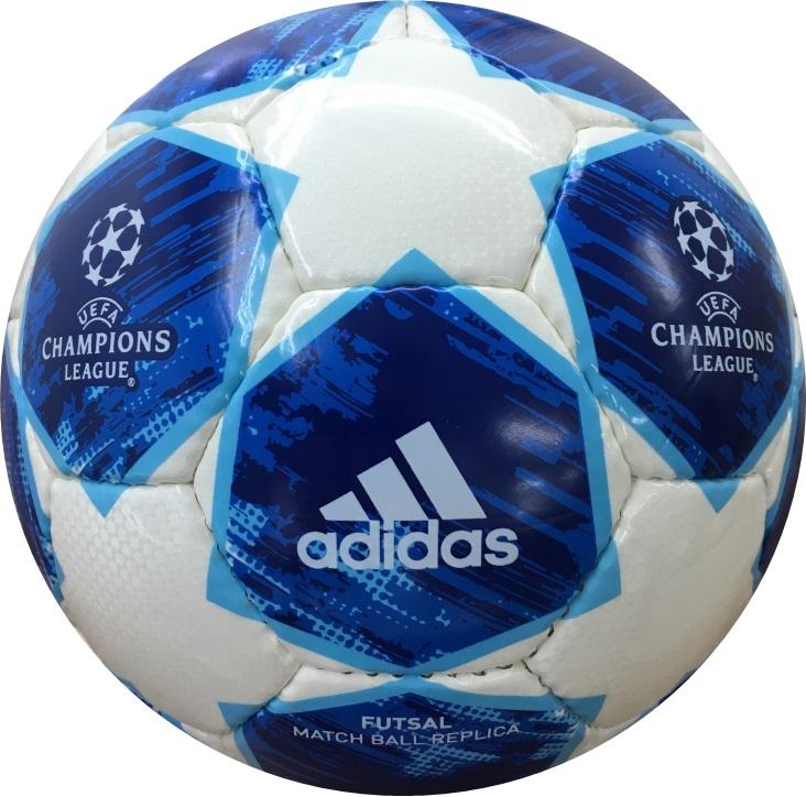 adidas (アディダス) フットサルボール フィナーレ 18-19 シーズン フットサル 青 フットサル4号球 青×白 AFF4400BW