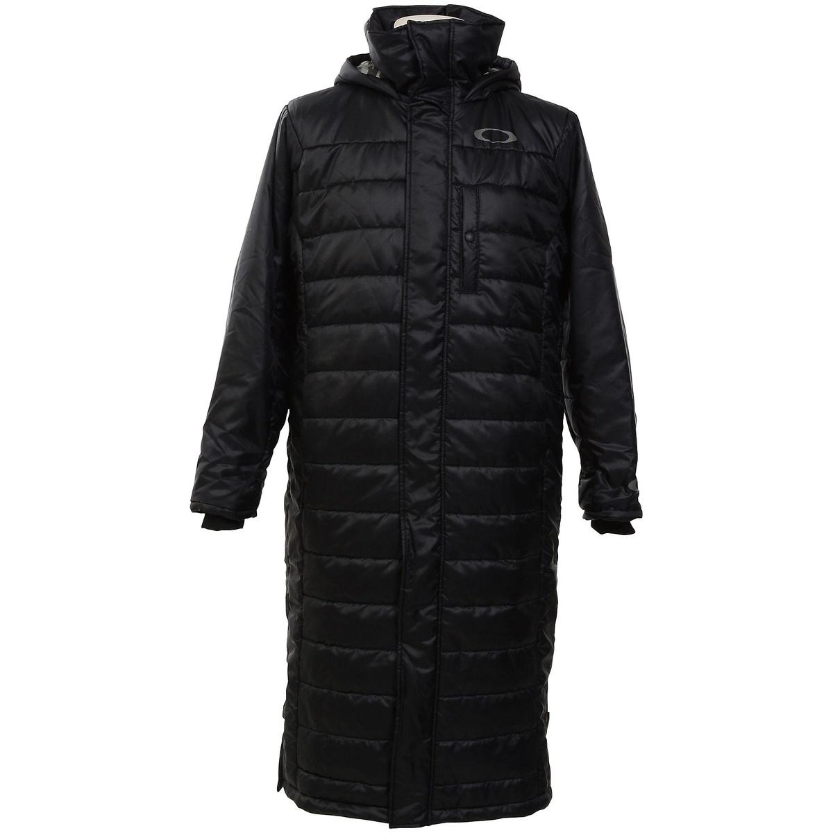 【送料無料】 OAKLEY(オークリー) メンズスポーツウェア 中綿ジャケット ENHANCE WIND WARM LONG COAT 8.7 メンズ BLACKOUT 412631JP-02E