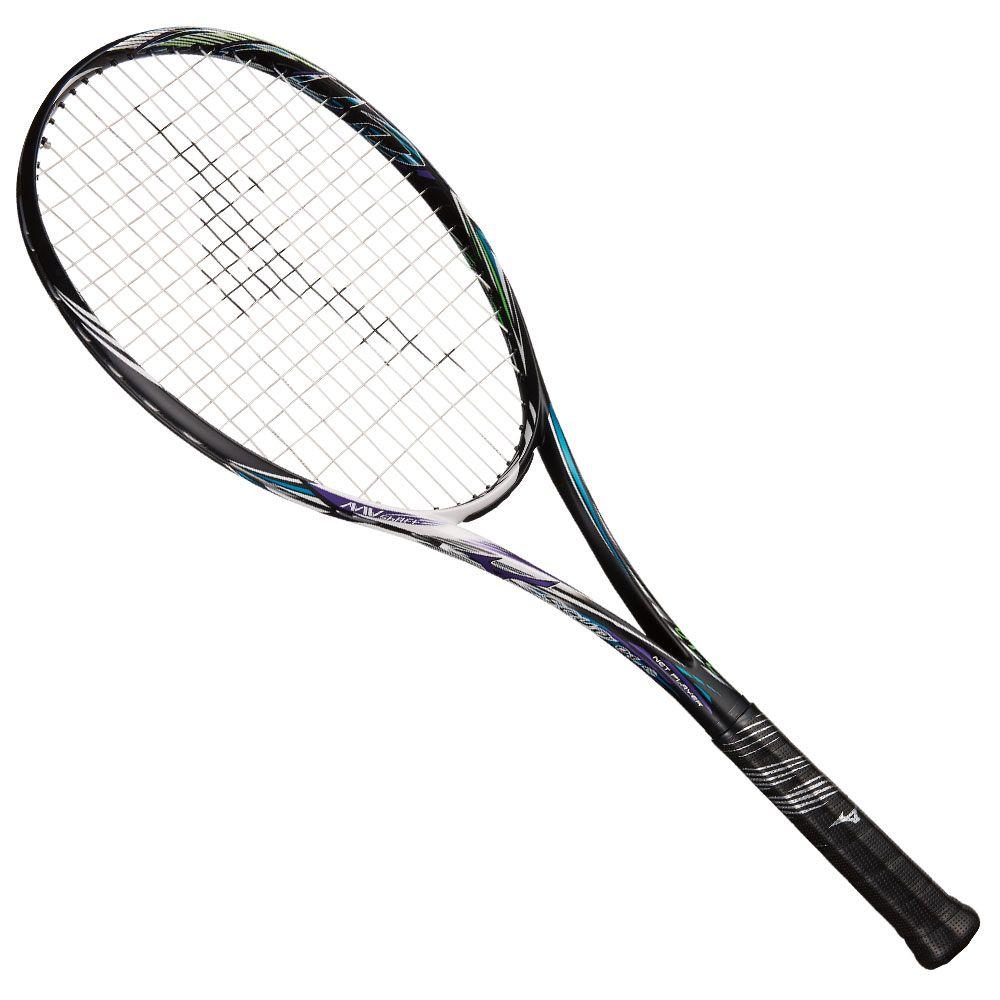 【送料無料】 MIZUNO (ミズノ) 【フレームのみ】ソフトテニス フレームラケット SCUD 01-C(スカッド01シー) 67:ハイブリッドブラック×クラウンバイオレット 63JTN85467