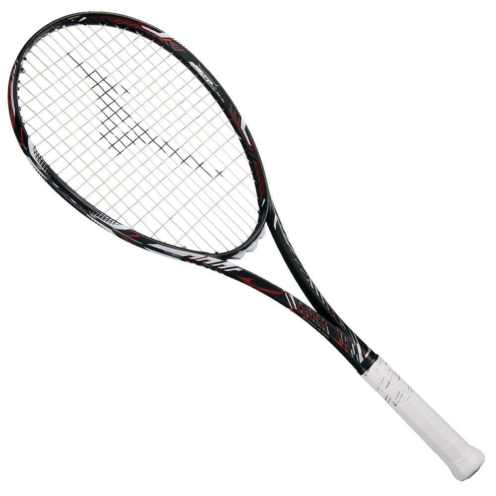 【送料無料】 MIZUNO (ミズノ) 【フレームのみ】ソフトテニス フレームラケット DIOS 10-R(ディオス10アール) 62:ハイブリッドブラック×フューチャーレッド 63JTN86362
