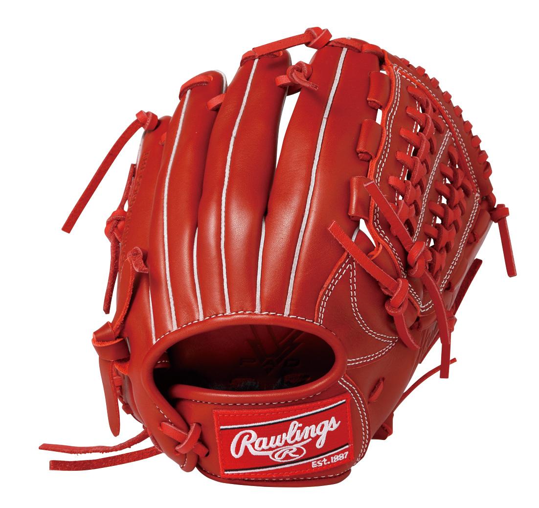 【送料無料】 Rawlings (ローリングス) 野球 少年軟式グローブ JR.ナンシキ ハイパーT R2G G9M-レッド RD GJ9HTG9M