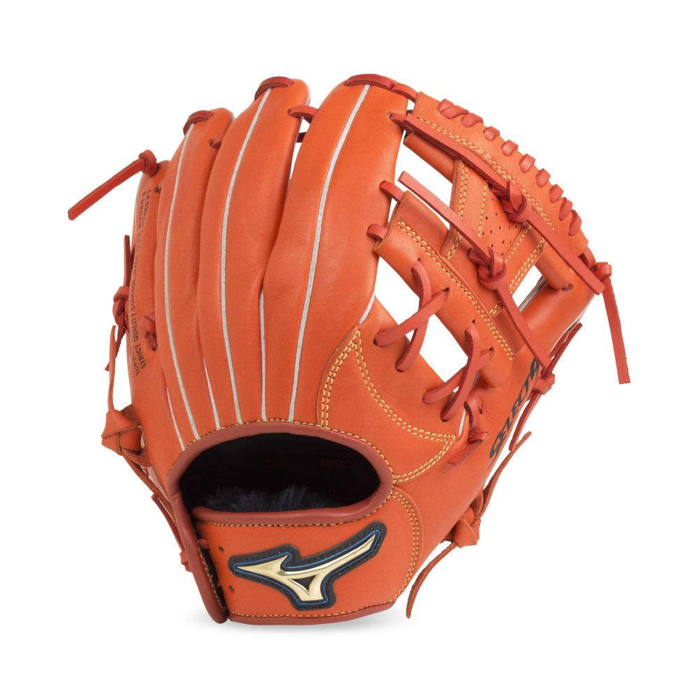 【送料無料】 MIZUNO (ミズノ) 野球 少年軟式グローブ ショウネン セレクト9 ボーイズ スプレンディッドオレンジ 1AJGY20800 52