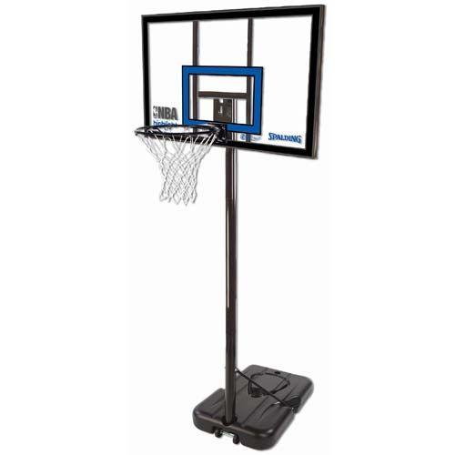 【送料無料】 SPALDING (スポルディング) バスケットボール バックボード トイ 【メーカー直送品】ハイライトポータブル クリアー 77455CN