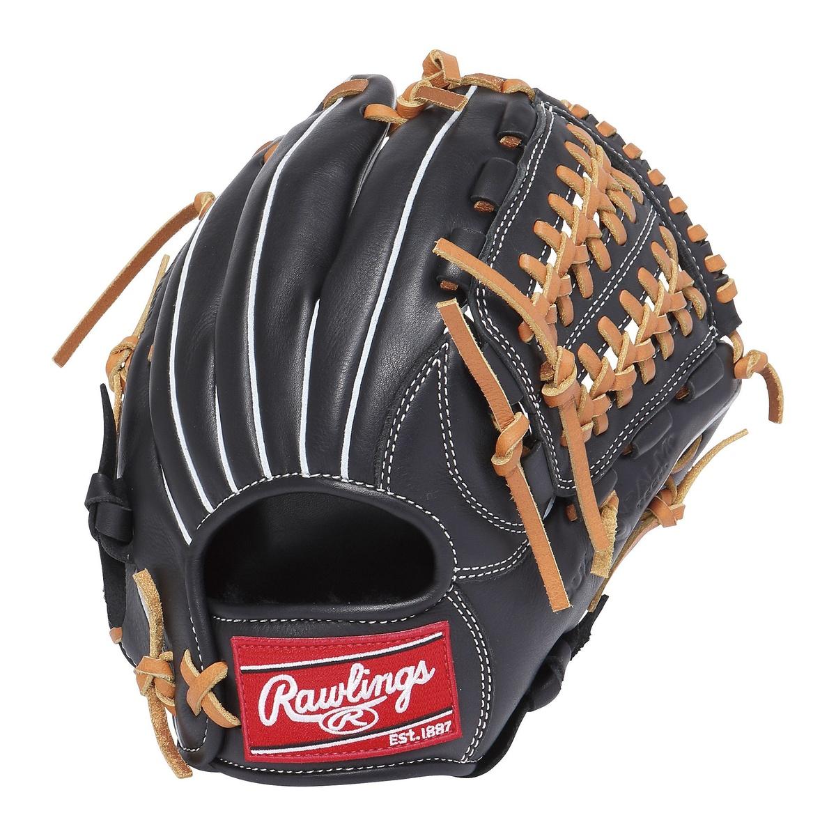 【送料無料】 Rawlings (ローリングス) 野球 少年軟式グローブ JR.ナンシキ ゲーマー レザー 110-B ブラック GJ7FG110