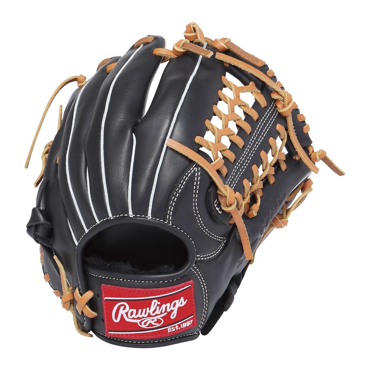 【送料無料】 Rawlings (ローリングス) 野球 少年軟式グローブ JR.ナンシキ ゲーマー レザー 112-B ブラック GJ7FG112