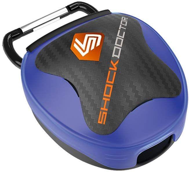 SHOCKDOCTOR(ショックドクター) フィットネス 健康 ボクシング関連 MOUTHGUARD CASE BLUE BLU 104C