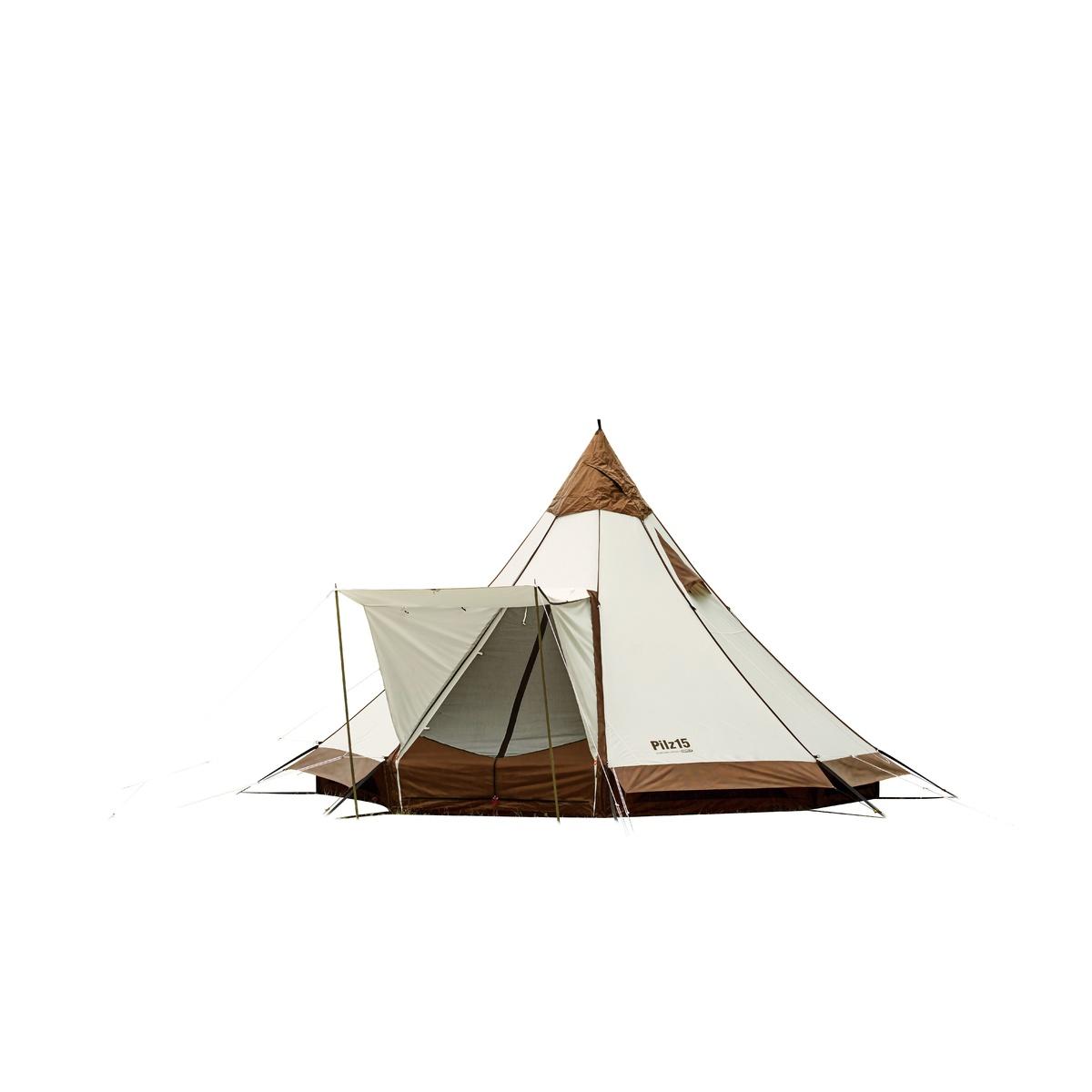 【送料無料】 ogawa(オガワ) キャンプ用品 ファミリーテント ピルツ15 T/C 76700