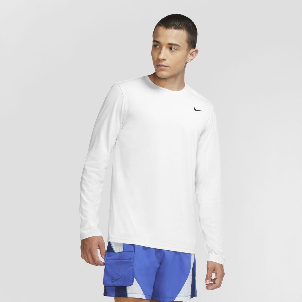 ナイキ メンズスポーツウェア 長袖機能Tシャツ AS M NK DF TEE 718838-100 値引き ホワイト 価格交渉OK送料無料 LEG ブラック LS NIKE メンズ 2.0